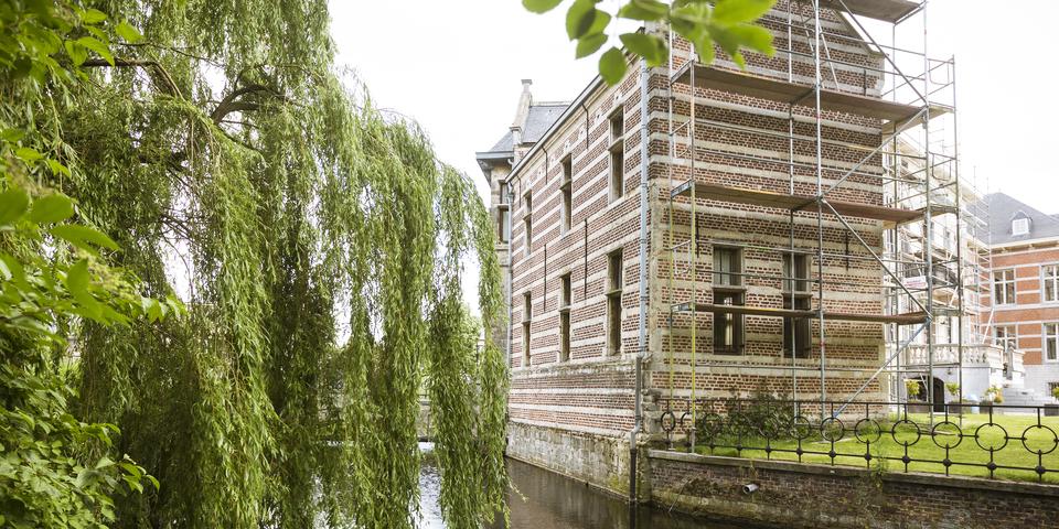 Het Bisschoppenhof is het oudste kasteel van Deurne