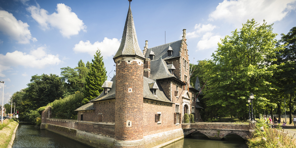 Het kasteeltje Hof Van Rosendael is erg bekend in het park