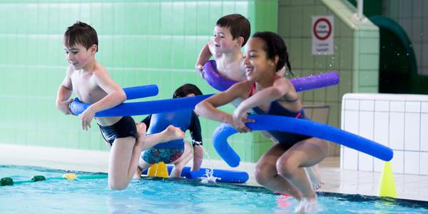 Zwempret tijdens de Antwerpse Sportweken